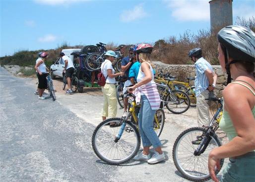 Bicycle treasure hunt